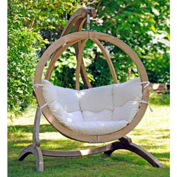 Design moderne de la balan oire en bois et en fer exterieur jardins mobilier de salon et - Balancelle de jardin en bois ...
