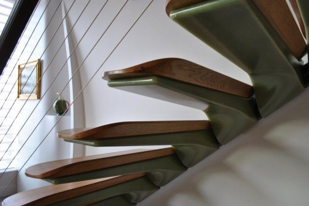 Best Stairs Are A Composite Resin Cantilevered From Tubular 400 x 300