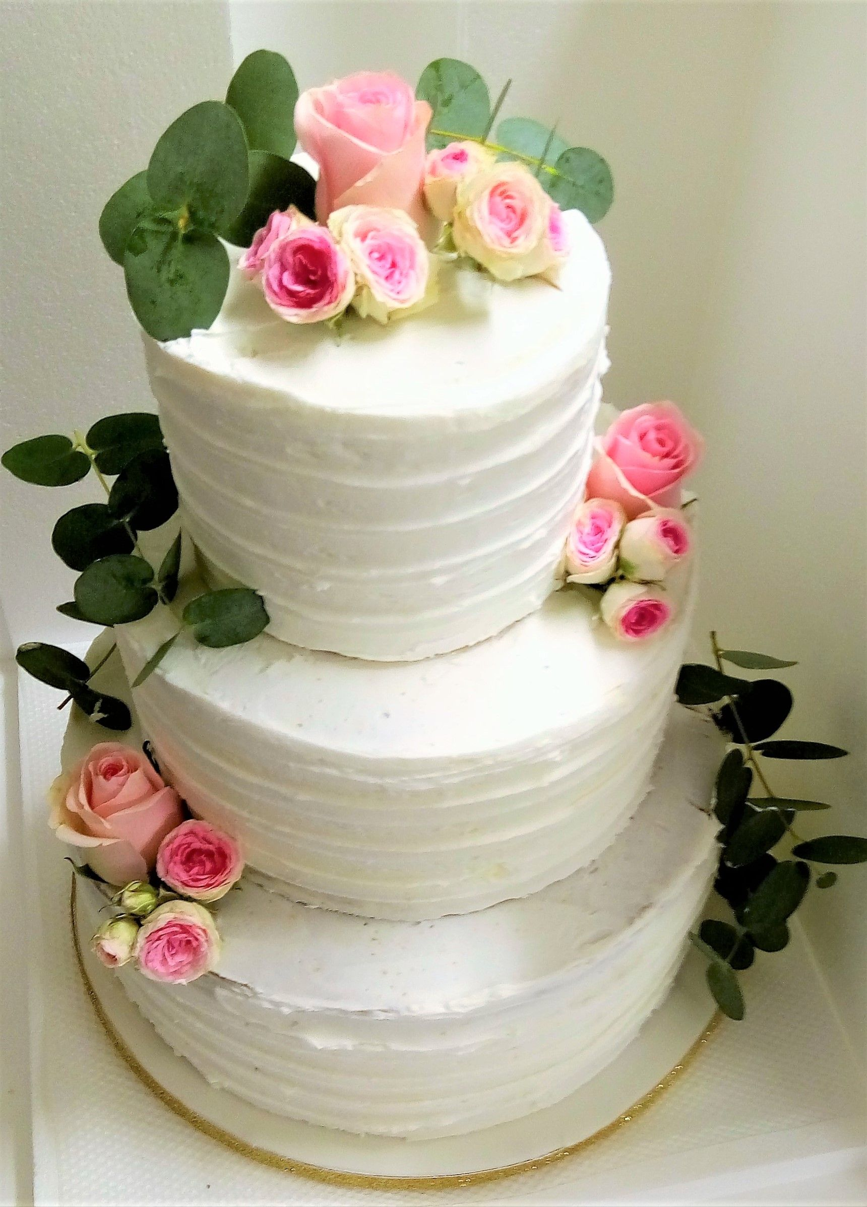Naked Cake Style Champetre Wedding Cakes Naked Decorated In 2018