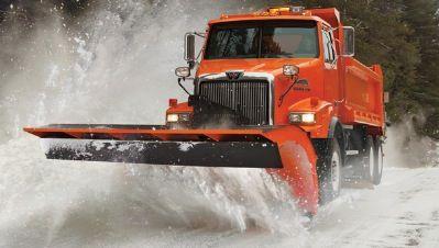 Western Stat Snow Plow Truck Snow Plow Truck Snow Vehicles Western Star Trucks
