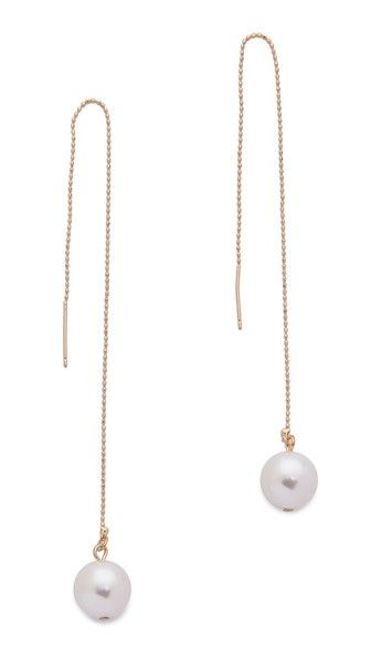 Jules Smith Large Hanging Imitation Pearl Earrings 45 00