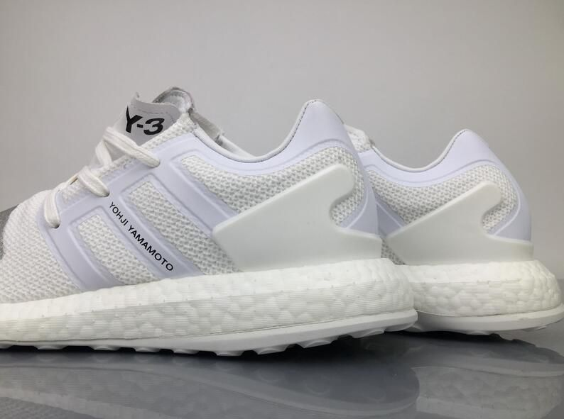 newest collection da4b2 091c9 ... new collection c9247 3038f Adidas Pure Boost Y-3 Yohji Yamamoto Triple  White BY8955 Sneaker ...