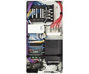 leviton structured wiring panel structured wireing and media rh pinterest com Structured Wiring Distribution Panels Home Structured Wiring Panel