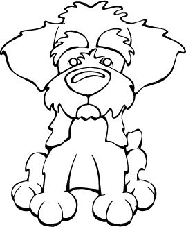 pin by angry squirrel studio on decal dogs dogs dog coloring page