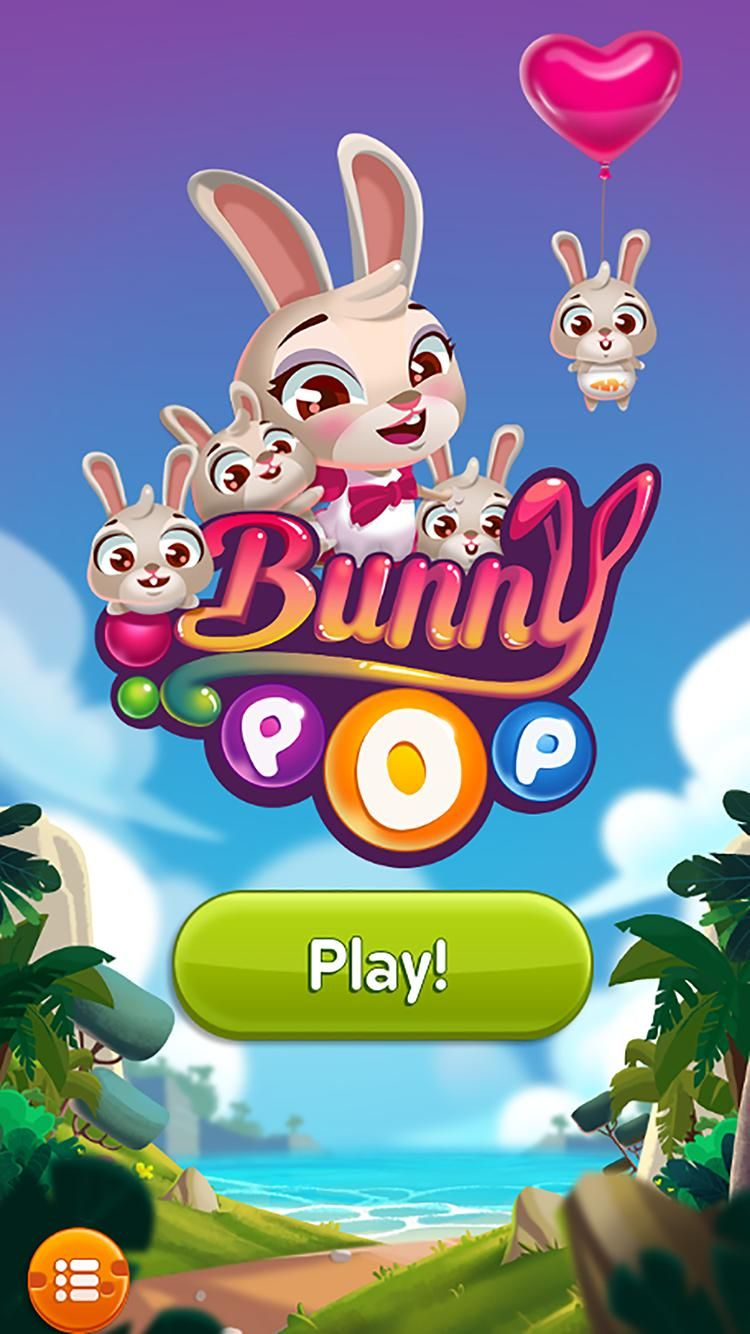 Bunny pop bubble shooter games in 2020 bunny game