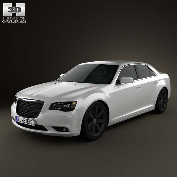 Chrysler 300 SRT8 2012 3d Model From Humster3d.com. Price