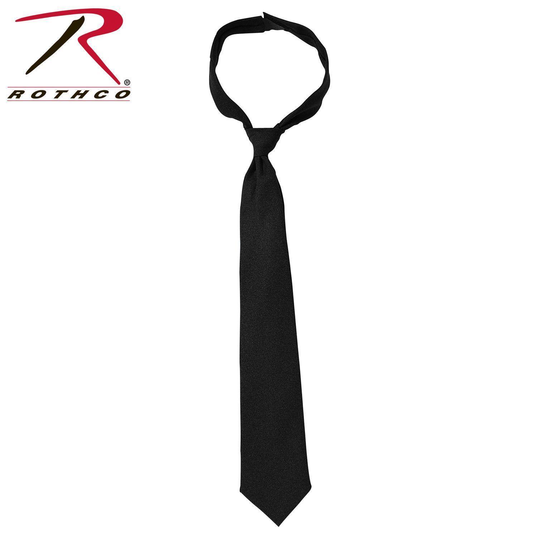 Rothco Police Issue Hook n Loop Neckties