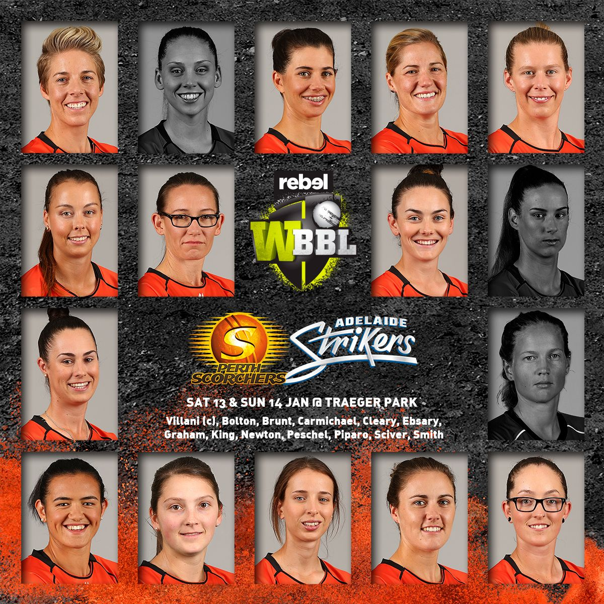Sydney Thunder, Squad, Melbourne Stars
