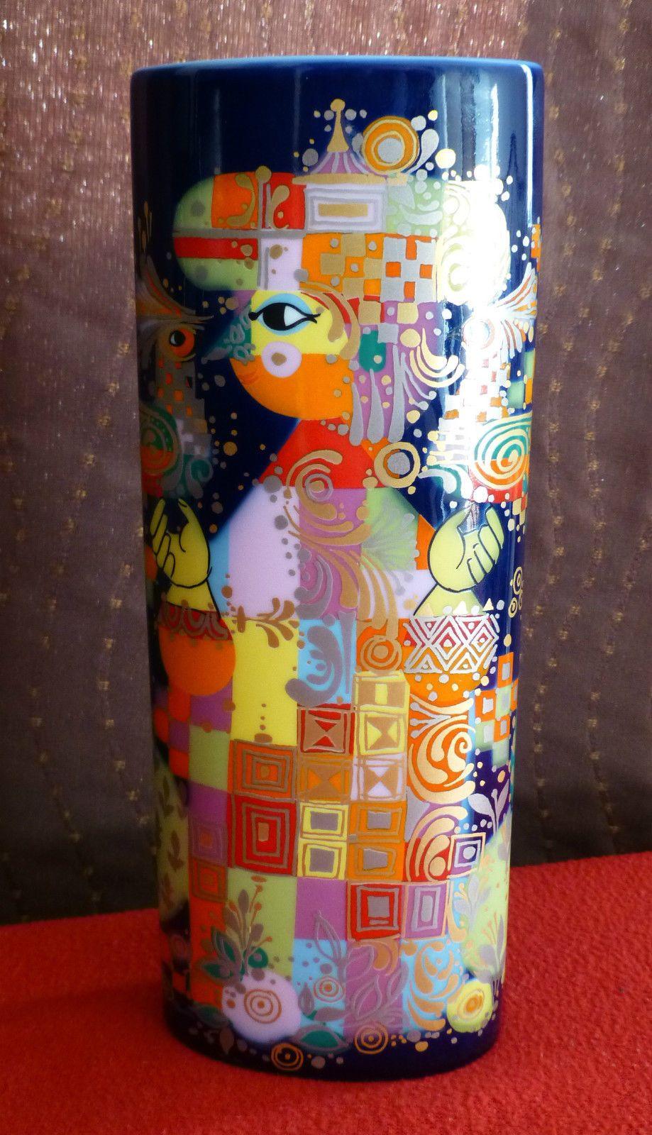 ROSENTHAL 1001 Nacht (1001 Nights) Vase - Björn Wiinblad 8½ Inches ...
