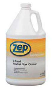 Zep Z Tread Neutral Floor Cleaner 4 Gal Flooring Cleaning
