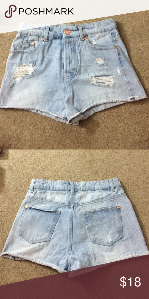 High waisted shorts High wasted shorts; worn only once or twice! refuge Shorts Jean Shorts