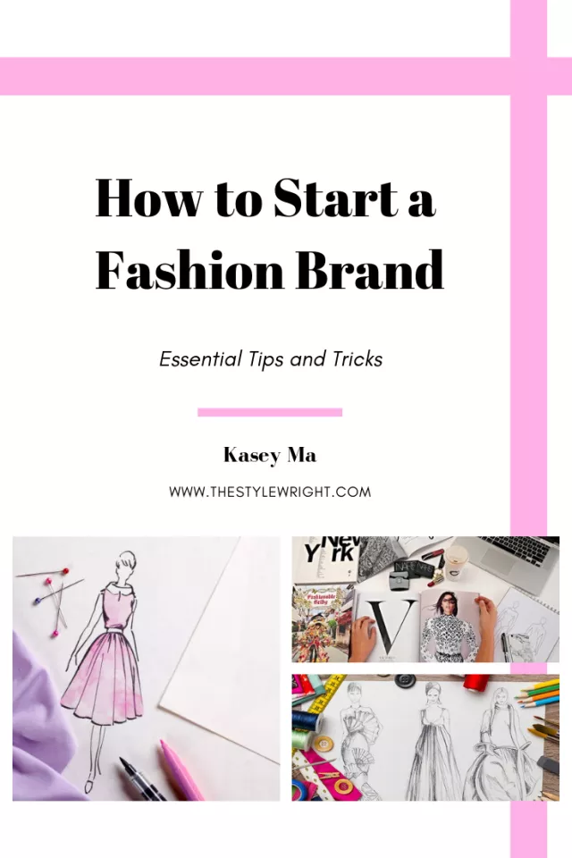 How To Start A Fashion Design Business The Stylewright Fashion Entrepreneur Business Fashion Business Plan Entrepreneur Fashion