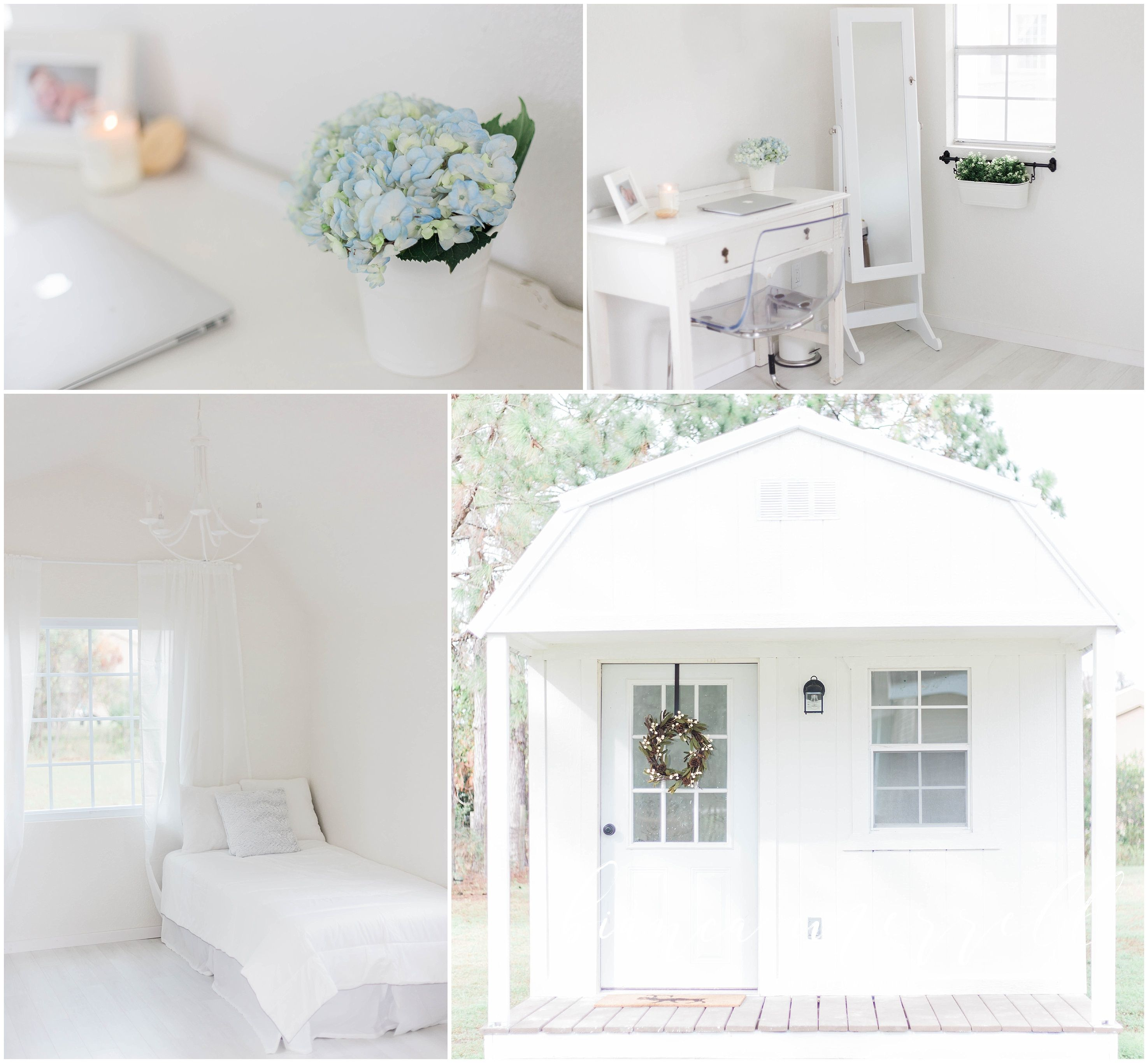 Natural Light Photography Studio. She Shed. Tiny House. Tampa ...