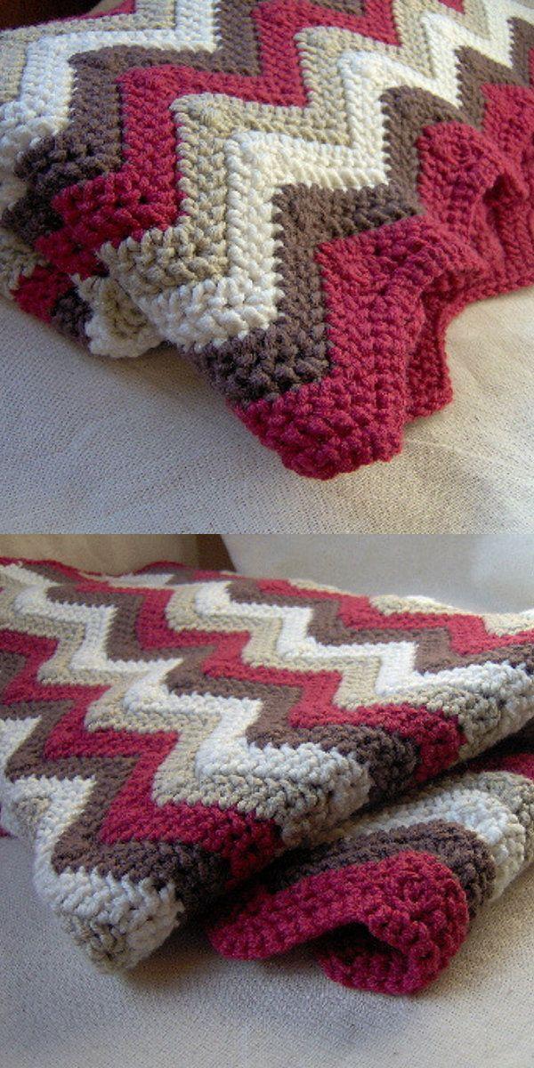 Excelente Patrón Manta Crochet Doble Ideas - Manta de Tejer Patrón ...