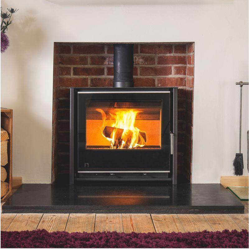 arada i600 slimline freestanding low stove lifetime. Black Bedroom Furniture Sets. Home Design Ideas