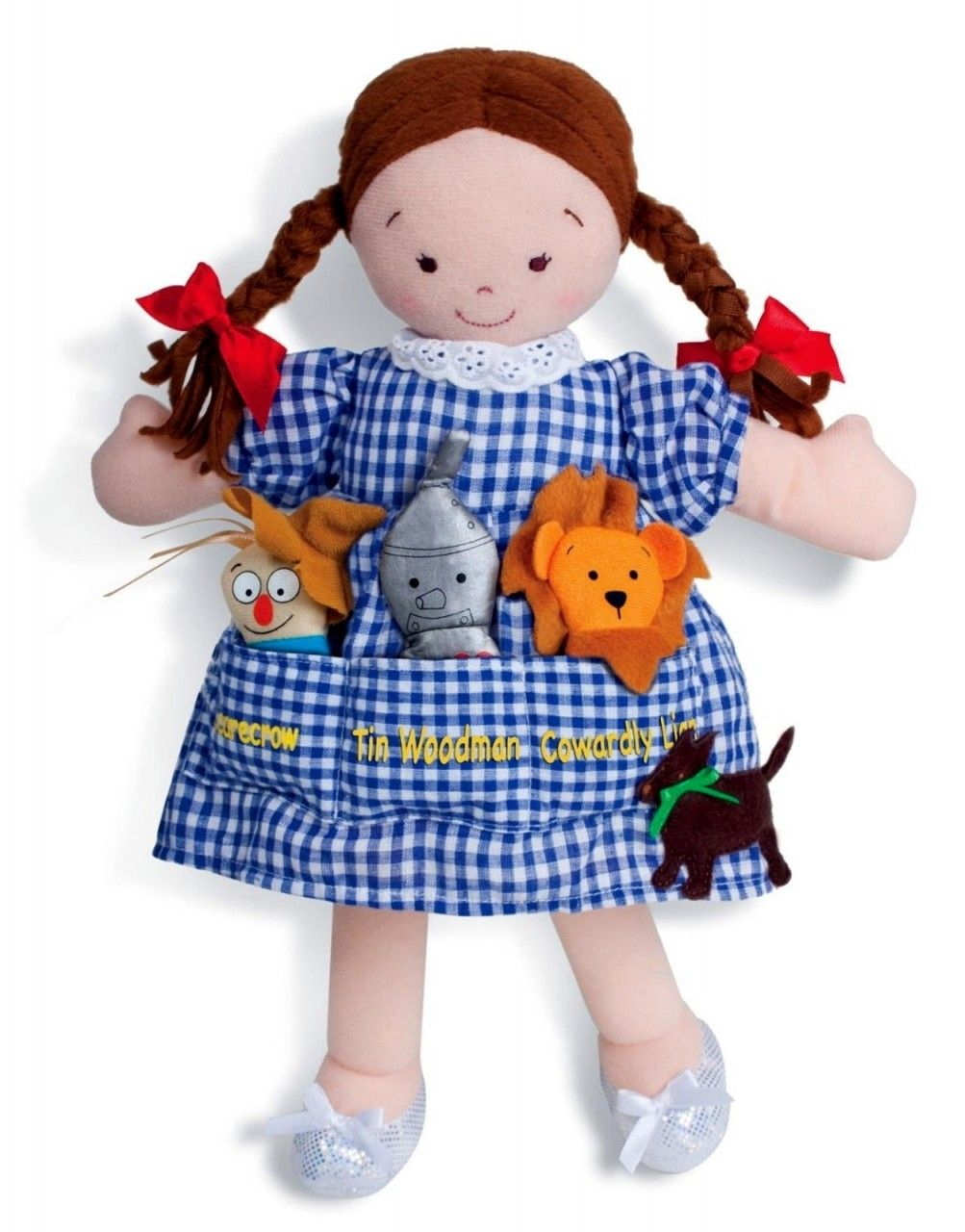 Dolly pockets wizard of oz doll and finger puppets