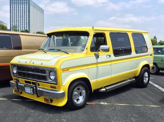 Custom 70 S Ford Van Van Custom Vans Vans Cool Vans