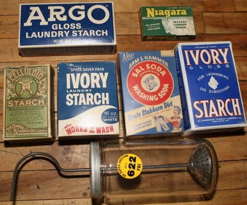 Lot Of Laundry Starch Boxes With Images Vintage Laundry