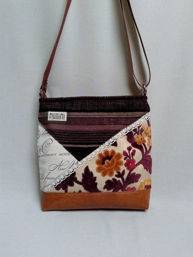 a7b608f4f5e0 Daily-bag 01 egyedi táska. Ezt a pint Monimi Design - kézműves táskák női  ...