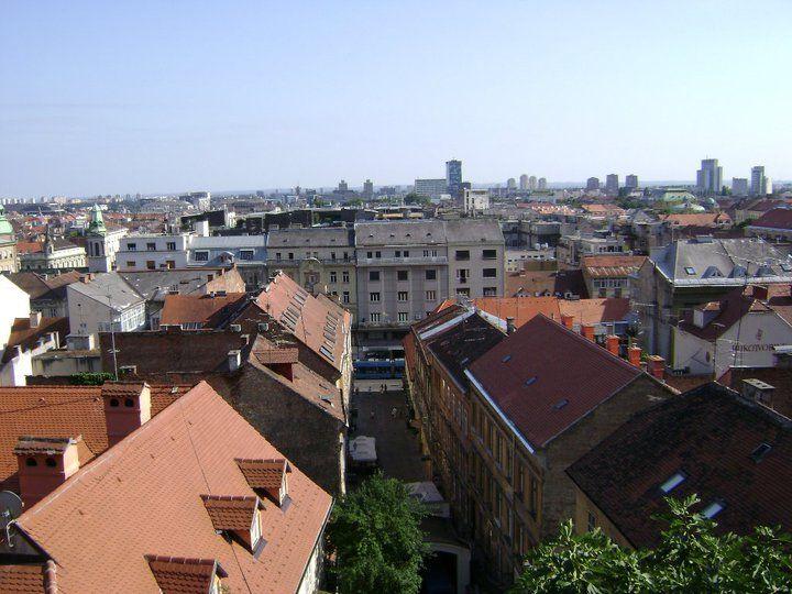 The Upper Town Zagreb Croatia Zagreb Croatia Zagreb Croatia