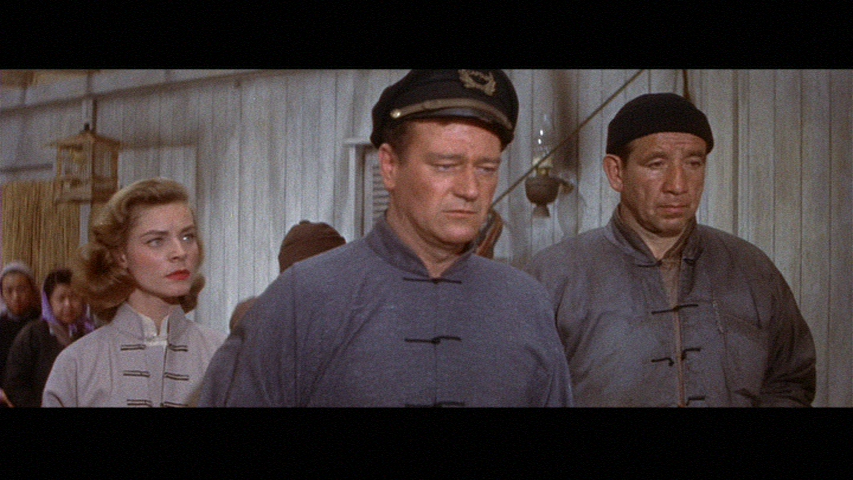 John Wayne in Blood Alley William A. Wellman, (1955) Mike Mazurki ...