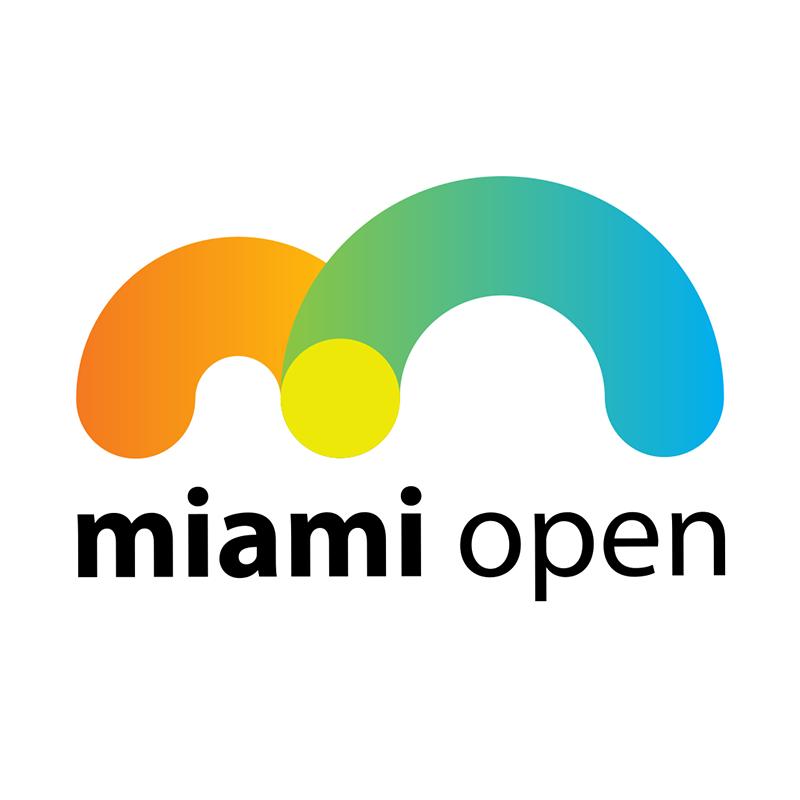 Miami Open Crandon Park Tennis Center Key Biscayne Fl Usa Played On Hardcourt Late March Early April Twelve Miami Tennis Tennis Open Sports Logo Design