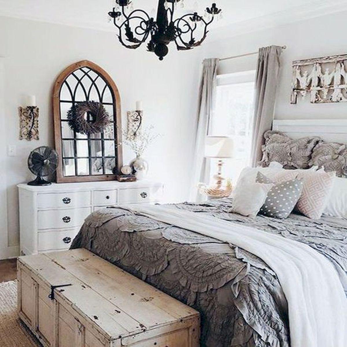 40 Cozy Farmhouse Master Bedroom