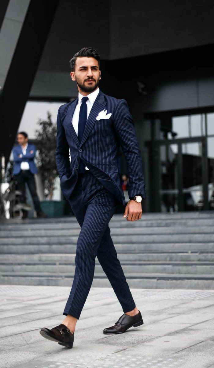 4 Formal Suit Outfit Ideas For Men  Formal Dress Code Guys  Mens