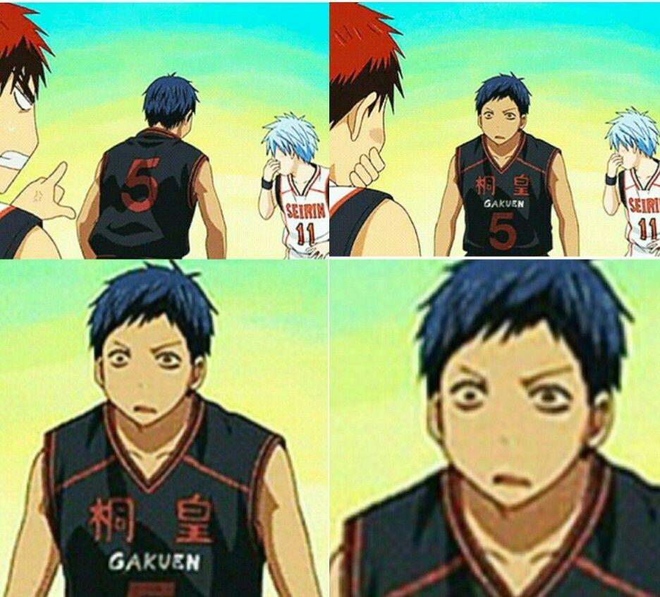 Pin By Haido Katsumi On Aomine Daiki Knb Kuroko No Basket No