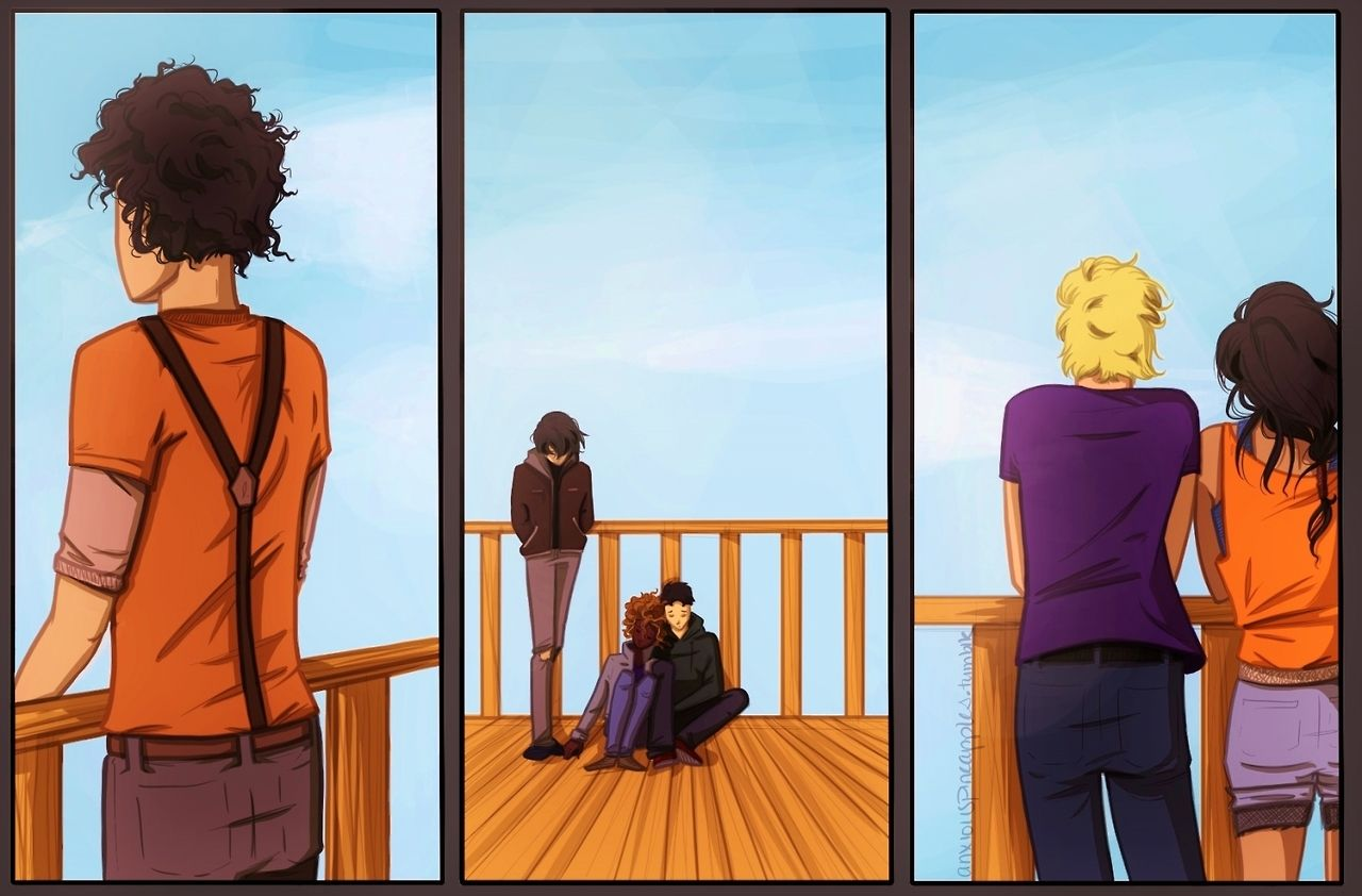 After Percabeth fell into Tartarus. | Percy Jackson ...