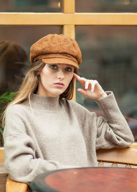 afae40289829e Cabbie hat women