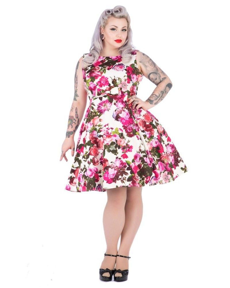 H&R   Audrey Floral Swing Dress - Tragic Beautiful buy online from ...