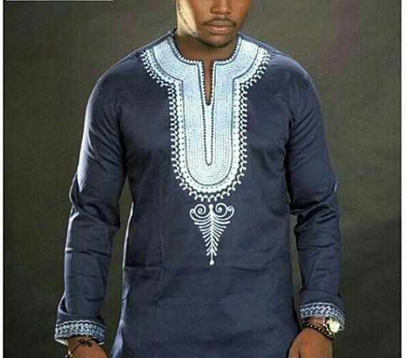 Blueblack With White Embroidery Colourful African Shirt Jolomie Design For Men African High Fashion Afri African Print Clothing African Shirts African Clothing,Automotive Design Engineer