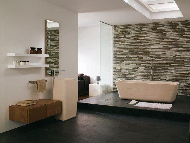 Bagno Pietra ~ Pietra naturale in bagno bathroom ideas naturale