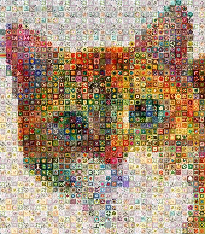 Wow. Granny squares this amazing! | patrones | Pinterest | Ganchillo ...