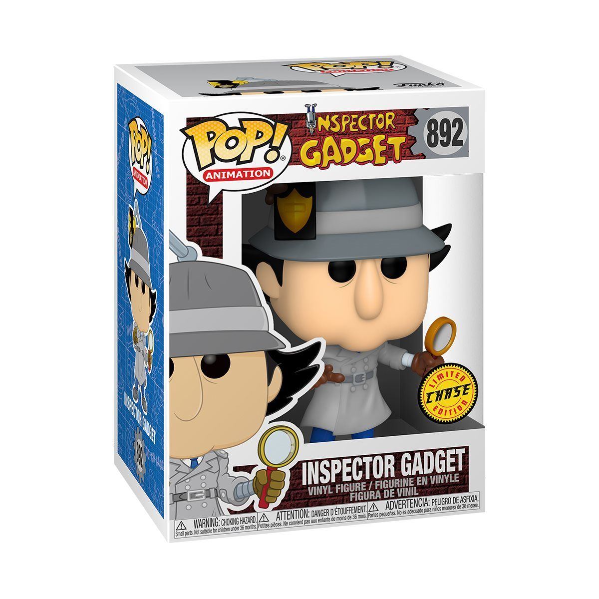 [PRE-ORDER] Funko POP! Inspector Gadget - Inspector Gadget Vinyl Figure #892