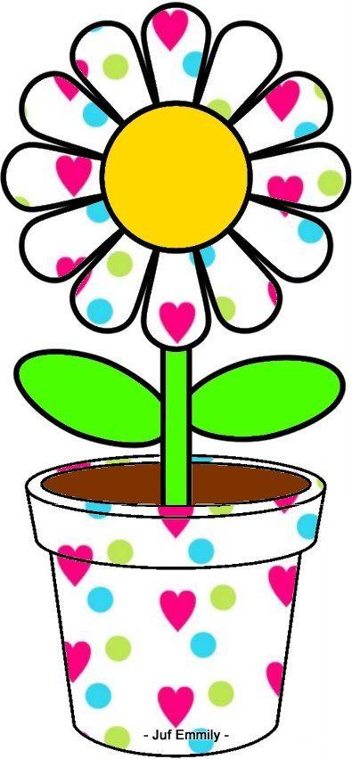 zoek de juiste bloem sjabloon juf emmily thema