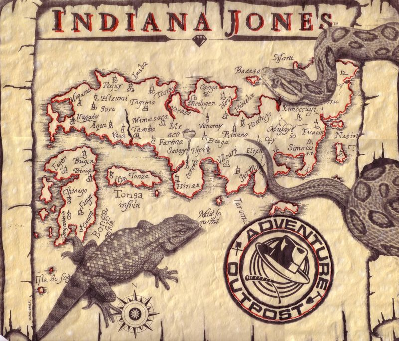 Adventure outpost map indiana jones party pinterest indiana official indiana jones merchandise and hats egyptian artifacts jewelry gumiabroncs Choice Image