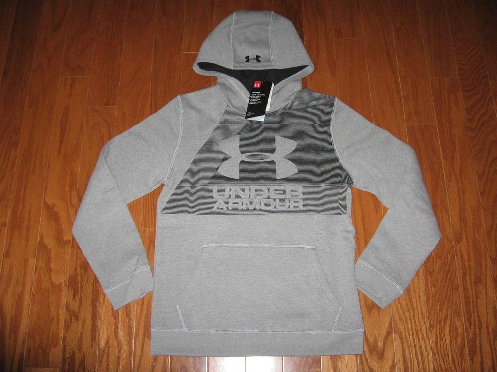 Under Armour Boy/'s Armour Fleece Big Logo Hoodie NWT
