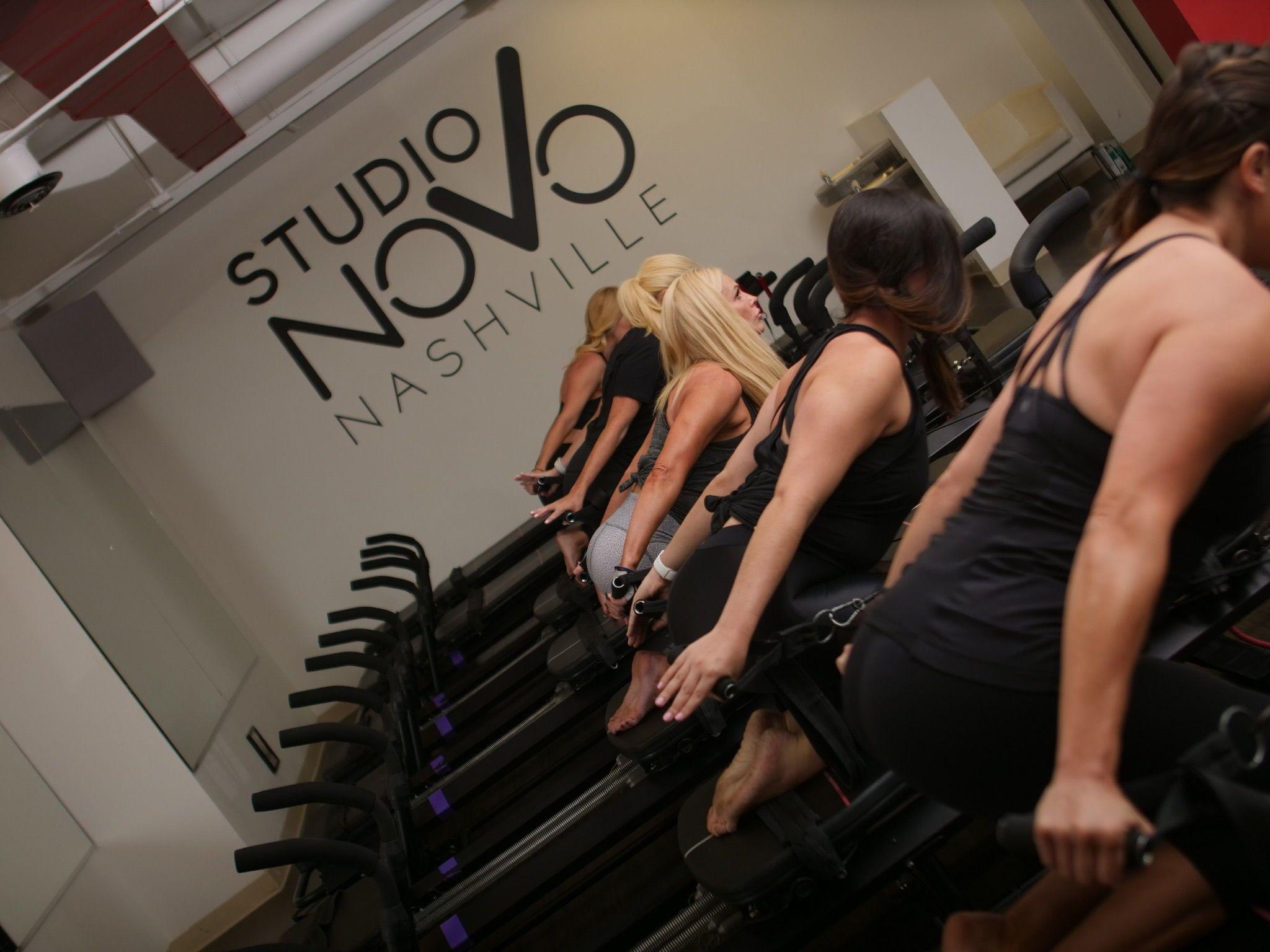Studio Novo The Pink Bride Lagree fitness, Circuit