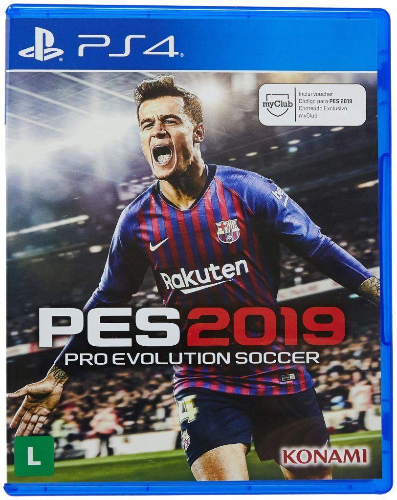 Pro Evolution Soccer 2019 continua com sua parceria com o