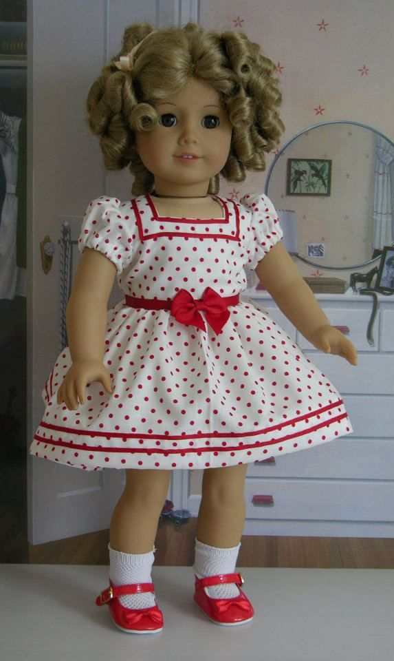 Shirley Temple Baby Take A Bow American Girl Dress