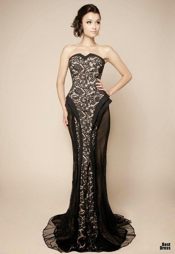 15ef5cdf090 Magníficos vestidos de gala para fiesta