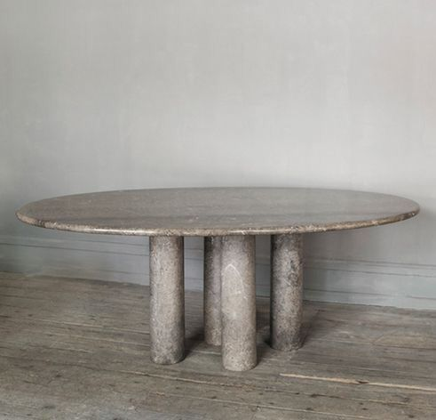 70 S Marble Table By Angelo Mangiarotti Marble Furniture
