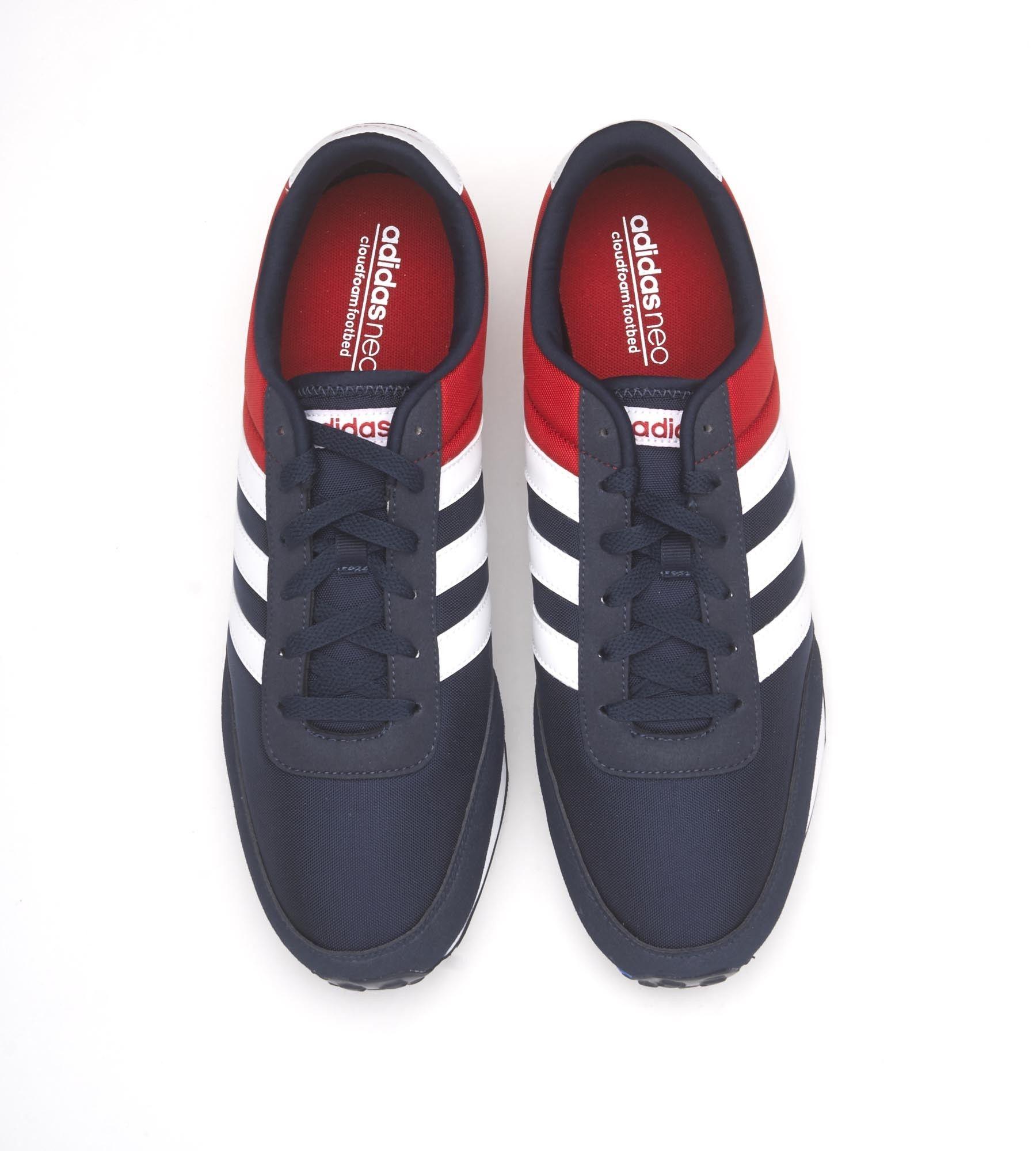 zapatillas adidas azul rojo