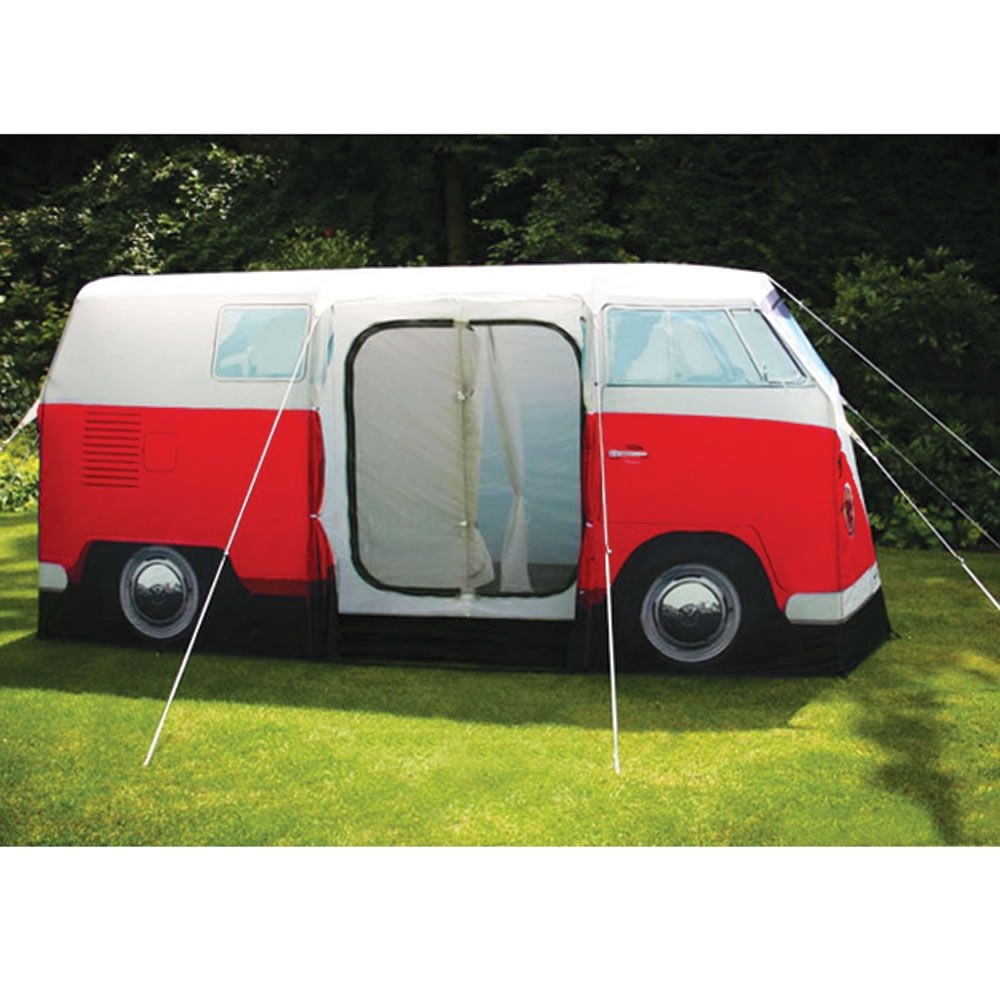 Tents · The VW Bus ...  sc 1 st  Pinterest & The VW Bus Tent - Hammacher Schlemmer | interior design ...