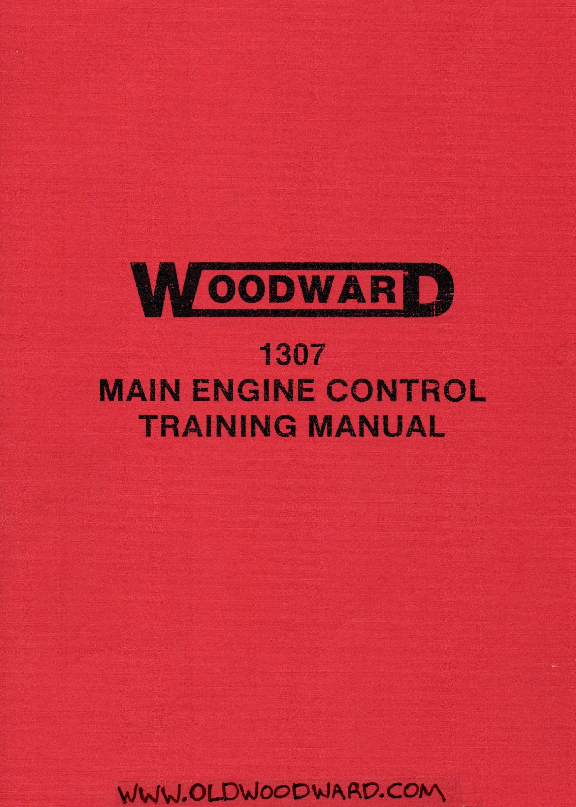 e of the first Woodward Aircraft Main Engine Controls for gas