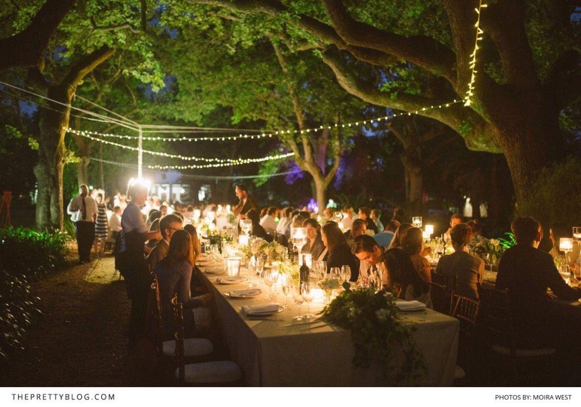A Wedding Fairytale Under The Stars Outdoor wedding