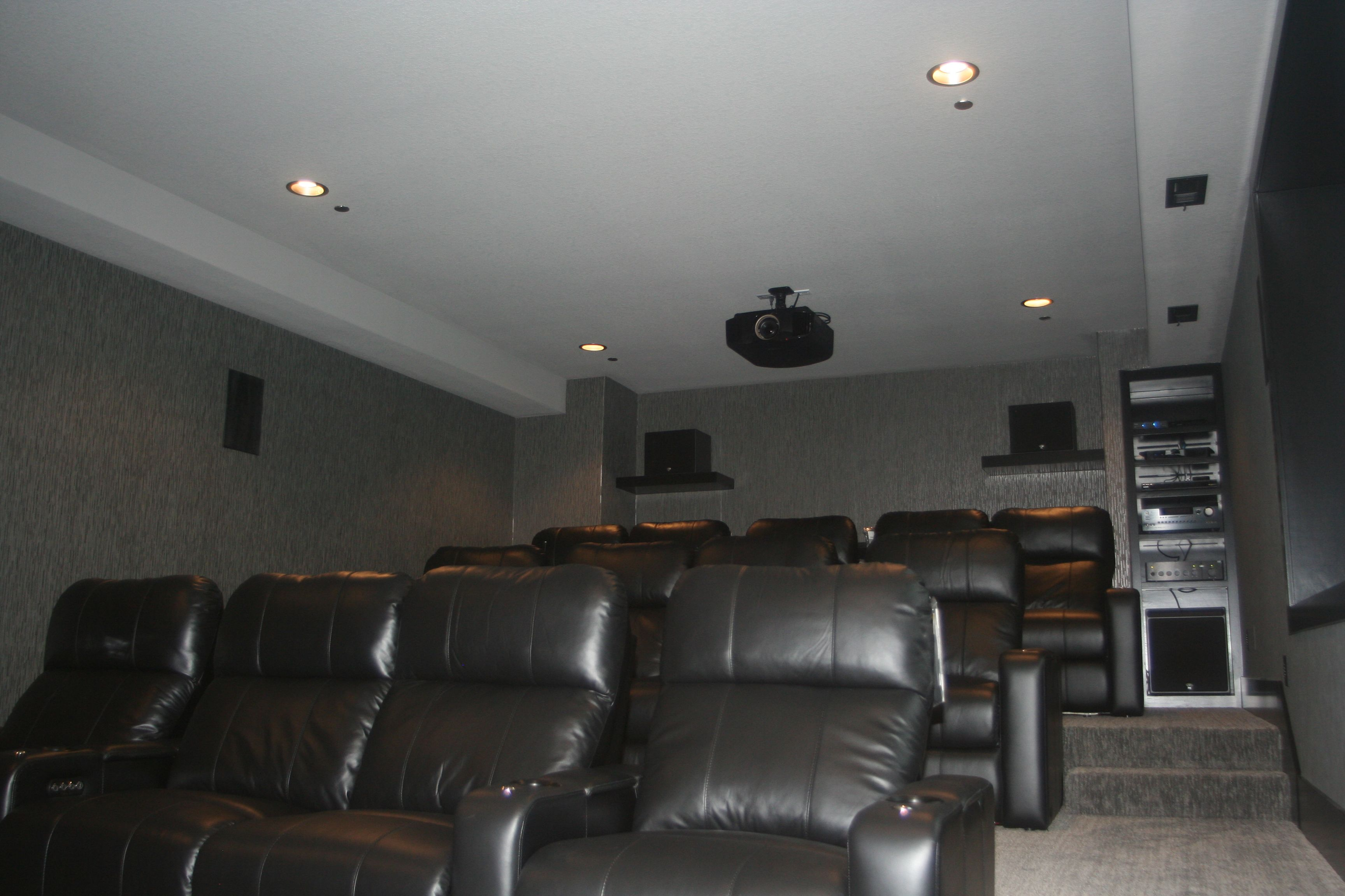 Custom Home Theater Installed By A Tech In Ankeny, Iowa