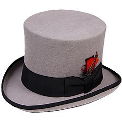 Top Hat High Quality Navy Black Brown Burgundy Olive White Purple 100/% Wool Felt